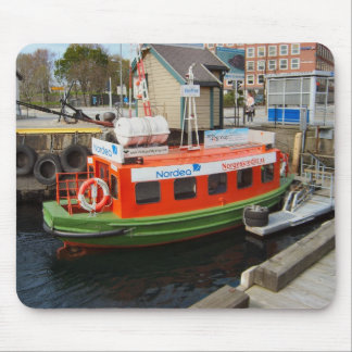 Norway, Bergen,travel by water taxi Mouse Mat