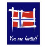Norway Brush Flag
