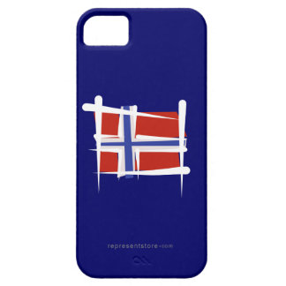 Norway Brush Flag iPhone 5 Cover
