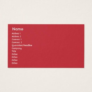 Norway - Business Business Card