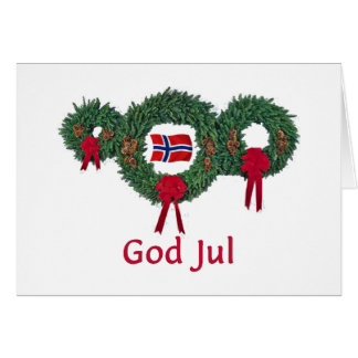 Norway Christmas 2 Card