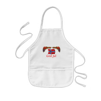 Norway Christmas Kids Apron