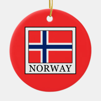 Norway Christmas Ornament