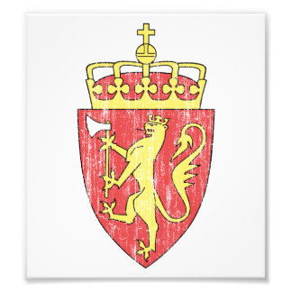 Norway Coat Of Arms Art Photo