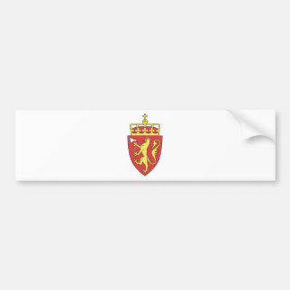 Norway Coat of Arms Bumper Sticker