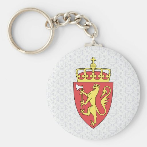 Norway Coat of Arms detail Key Chain