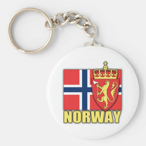 Norway Coat of Arms Keychains