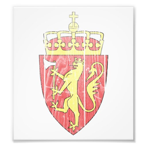 Norway Coat Of Arms Photo Art