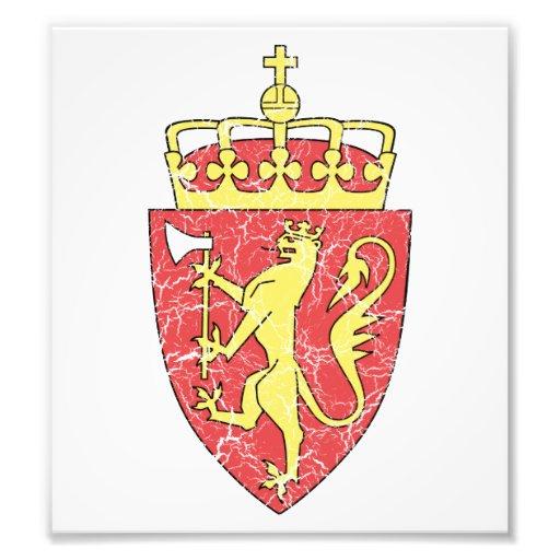 Norway Coat Of Arms Art Photo