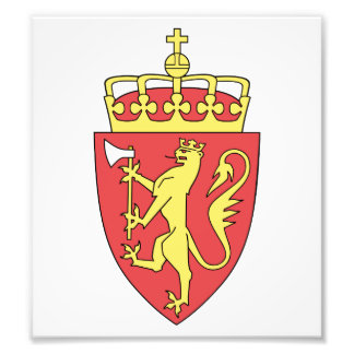 Norway Coat Of Arms Photo Art