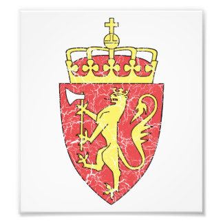 Norway Coat Of Arms Photograph