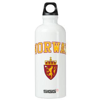 Norway + Coat of Arms Water Bottle