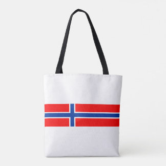 norway country flag nation symbol tote bag