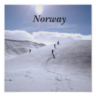 Norway Countryside Poster