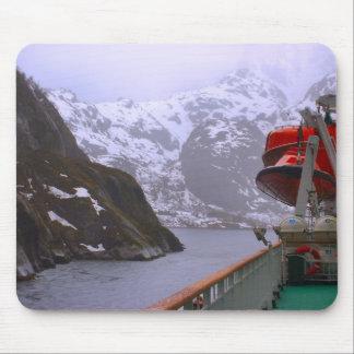 Norway, Cruising the Norwegian coast Mouse Mat