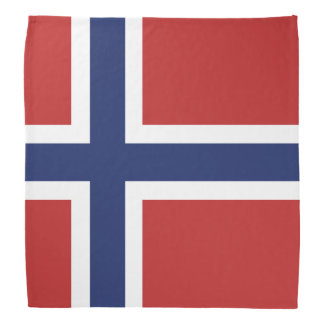 Norway Flag Bandana
