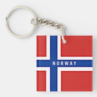 Norway Flag custom design Key Ring