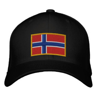 Norway Flag Embroidered Hat