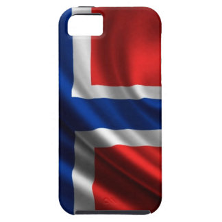 Norway Flag Full HD iPhone 5 Case