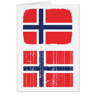 Norway Flag Greeting Cards