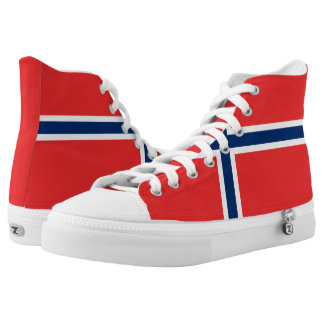 Norway Flag High Tops