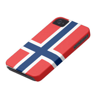 Norway Flag iPhone 4 Cases