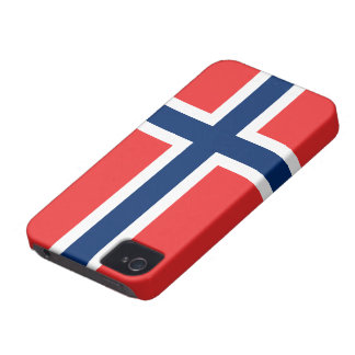 Norway Flag iPhone 4 Covers