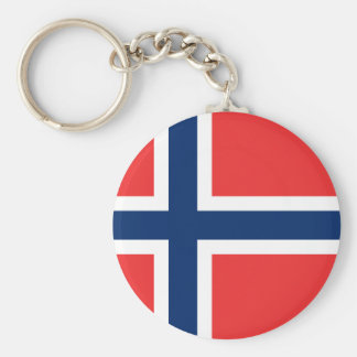 Norway Flag Key Ring