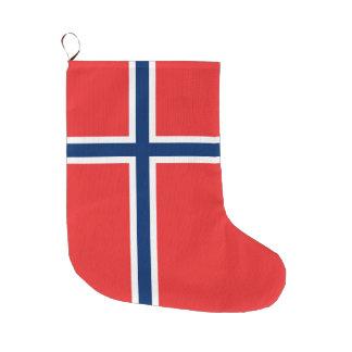 Norway Flag Large Christmas Stocking