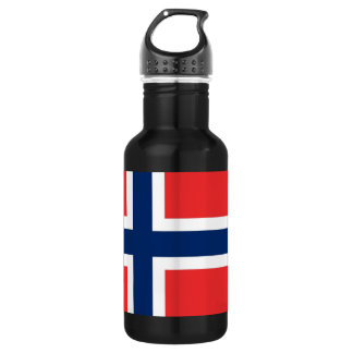 Norway Flag Liberty Bottle 532 Ml Water Bottle