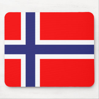 Norway flag mouse mat