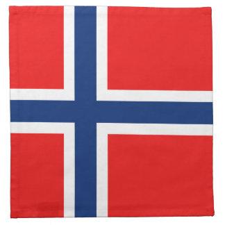 Norway Flag Napkin