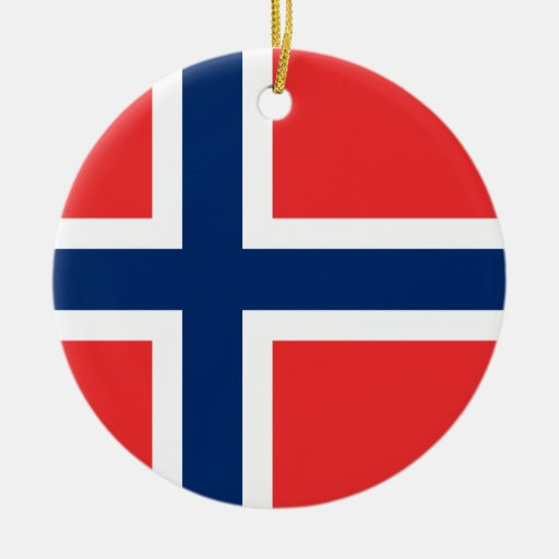 Norway Flag Ornament
