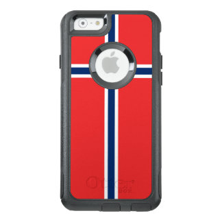 Norway Flag OtterBox iPhone 6/6s Case