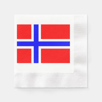 norway-flag.png paper napkin