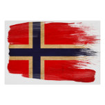 Norway Flag Posters