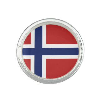 Norway Flag Ring