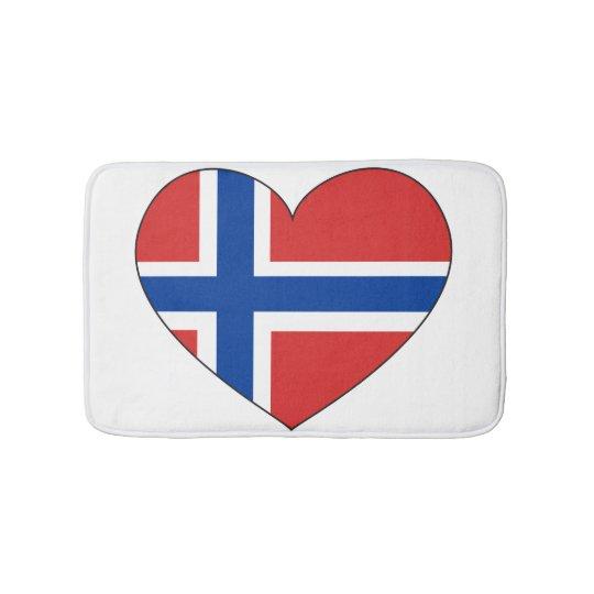 Norway Flag Simple Bath Mat
