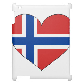 Norway Flag Simple iPad Cover