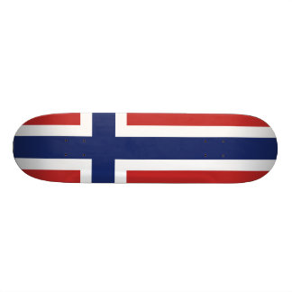 Norway Flag Skate Board Deck