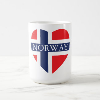 NORWAY HEART COFFEE MUG