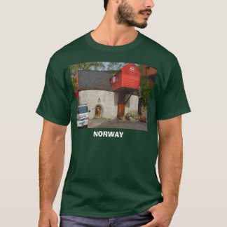 Norway, house with a wooden extension T-Shirt