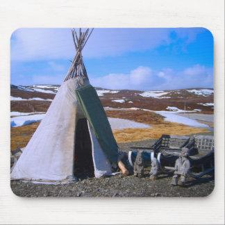 Norway, Lapland, Sami Settlement Mouse Mat