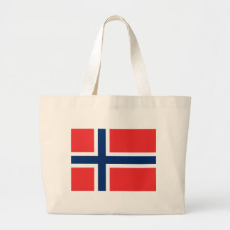 norway large tote bag