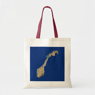Norway Map Bag