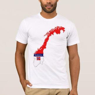 Norway Map Designer Shirt Apparel Sale Him or Hers