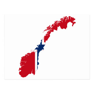 NORWAY MAP POSTCARDS