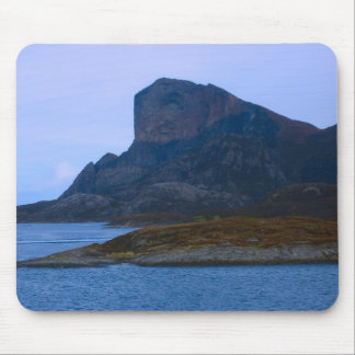 Norway, Mountains on the fjord Mouse Mat
