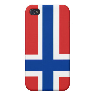 Norway National Nation Flag  iPhone 4 Cover