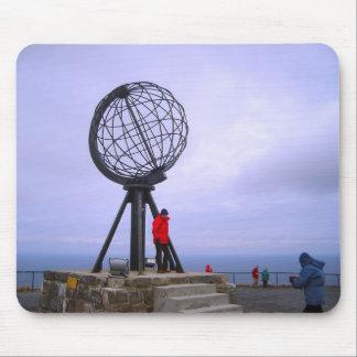 Norway, North Cape, globe symbol Mouse Mat